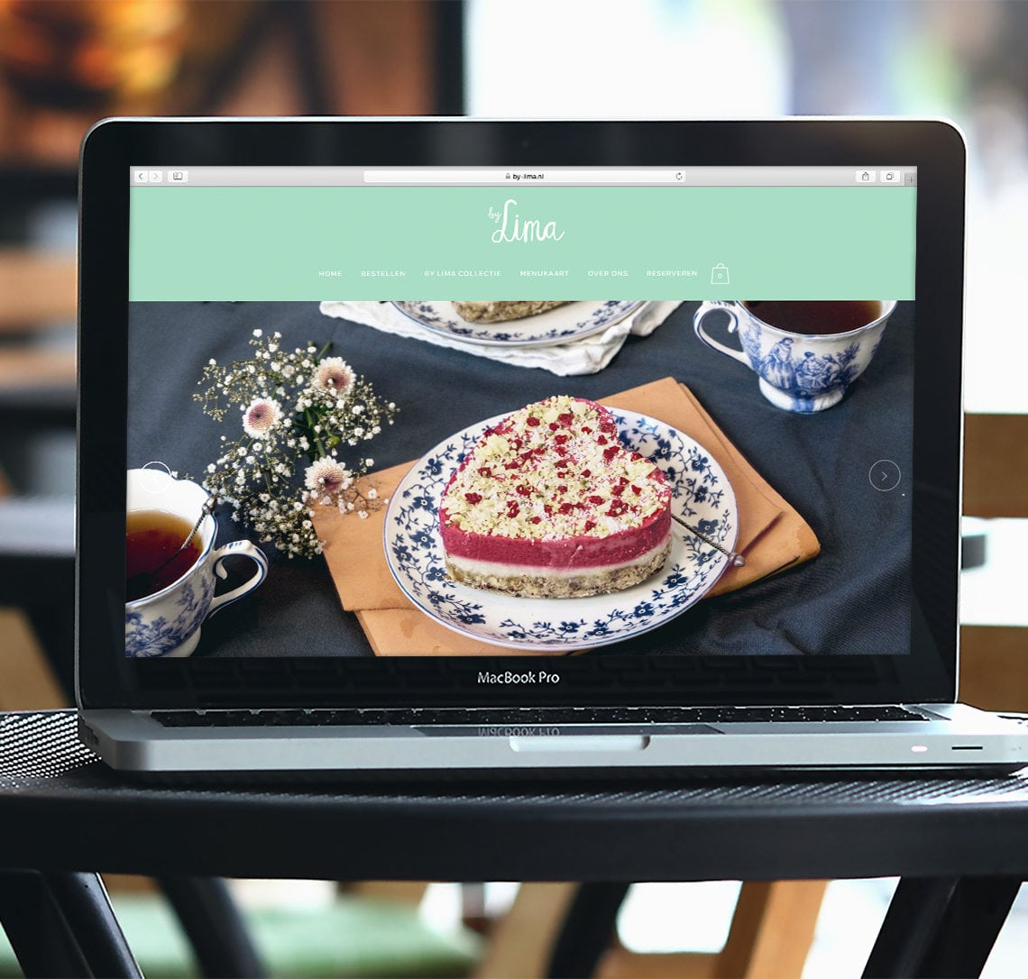 WordPress website restaurant Haarlem