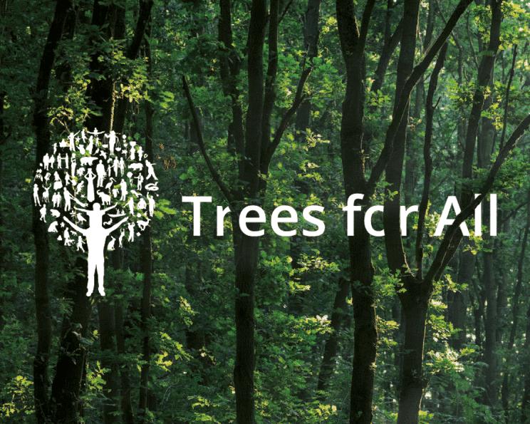 WPinaday werkt samen met Trees for All